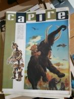 OLD ITALIAN MAGAZINE CAPIRE - 1966 COVER WITH MAMMOUTH SKELETON PREHISTORIC LIFE TIGER - Books, Magazines, Comics