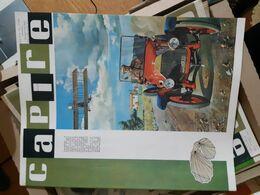 OLD ITALIAN MAGAZINE CAPIRE - 1966 COVER WITH OLD CAR AND LEONARDO DA VINCI WINDS FLYING MACHINE - Books, Magazines, Comics