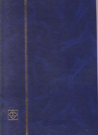 Album Vide Timbres- Grand Format Bleu  Marine -32 Pages - Stockbooks