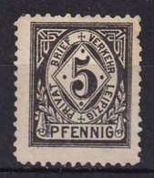 LEIPZIG - 5 P. Noir - Posta Privata