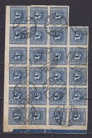 AUTRICHE - 2 H. Bleu En Bloc De 23 Oblitéré - Periódicos