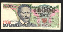 POLAND  10000 ZL  1988 - Poland
