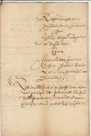 1685manuscrit Brabant Vazanne Vicaire Pasteur Limal ? .... à Découvrir - Manuscripts
