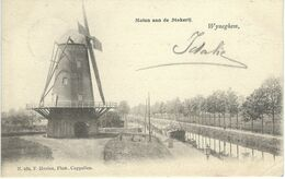WYNEGHEM - WIJNEGEM : Molen Annde Stokerij - RARE CPA - Cachet De La Poste 1902 - Wijnegem