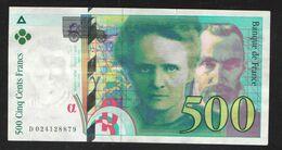FRANCE 500 FRANCS     1994 - 1992-2000 Laatste Reeks
