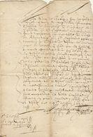1642 Manuscrit Brabant ... à Découvrir - Manuscripts