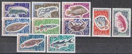Kamerun 1968 - Mi.Nr. 541 - 550 - Postfrisch MNH - Tiere Animals Fische Fishes - Vissen