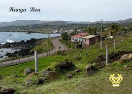 Easter Island UNESCO Hanga Roa View New Postcard Osterinsel AK - Rapa Nui