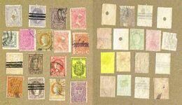 ESPAGNE 17 Timbres Oblitérés Anciens - Sammlungen