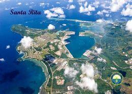 Guam Santa Rita Aerial View New Postcard - Guam