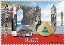 España. Spain. 2020. 12 Meses, 12 Sellos. Lugo - 2011-... Nuovi & Linguelle