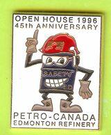 Pin's Carburants Petro-Canada Edmonton Refinery Open House 1996 45th Anniversary - 1B27 - Carburants