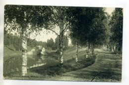 FINLANDE  SAIMA KANAL SAIMAAN Kanava  Route Pres Canal  Ecluse Péniche  écrite En 1908   /D14-2017 - Finland