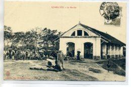 TONKIN QUANG YEN La Marché Place Pres Des Halles No 102 Coll Mme Liot Gorse Hanoi   -  Timbrée  1913      D09 2017 - Vietnam