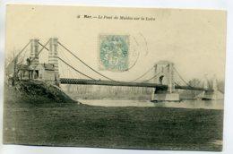 41 MER Le Pont De Fer De Muides Sur La Loire 1906 Timbrée  D11 2017 - Mer