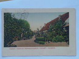 M119 Lovosice Lobositz Schwarzenbergsky Vinohrady 1920 - Tchéquie