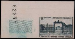 FRANCE   ** 988 988 Essai En Bleu Foncé, Cdf: Versailles, Utrillo - Ensayos