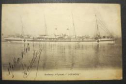 """Navire Hôpital """" Divona """" WW1 - 1914 - 1918 - CPA - Cie De Navigation Sud Atlantique - 1886 - 1920 - B.E - - Oorlog"""