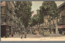 CPA 06 - Nice - L'Avenue De La Gare - Nice
