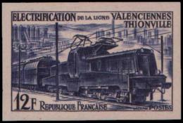 FRANCE   ** 1024 1024 Essais En Violet: Locmotive Alsthom - Ensayos