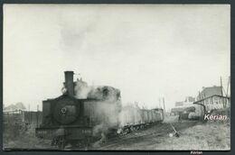 80 Somme) Photo Cartonnée P. Laurent - Décembre 1949 - TR2729TR2729vPéronne - Départ Du Train Pour Ham - Voir 2 Scans - Treni