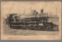 CPA 71 - Le Creusot - Usines Schneider - Locomotive à Grande Vitesse - Le Creusot