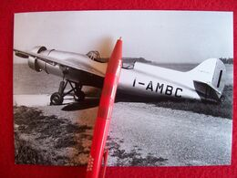 FOTO AEROPLANO SAI AMBROSINI  SAI-3 Matricola  I-AMBC - Aviation