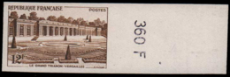 FRANCE   ** 1059 1059 Essai En Brun, Bdf Numéroté: Le Grand Trianon - Versailles - Ensayos