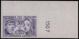 FRANCE   ** 1060 1060 Essai En Violet, Cdf: France - Amérique Latine - Ensayos