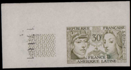 FRANCE   ** 1060 1060 Essai En Bronze, Cdf: France - Amérique Latine - Ensayos