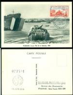 France 1954 Carte Maximum Arromanches Mi 1003 - 1950-59