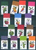 Belarus 2020 Def. Adhesive Funny Vegetables Definitive 14v MNH - Bielorussia