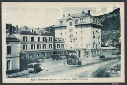 Briançon (1327 M) - La Gare Et L'Hôtel Terminus - N°8333.1 - A. Hourlier - Voir 2 Scans - Briancon