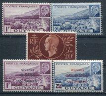 Guyane         177/179 ** - 172/173 ** - Unused Stamps