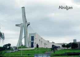Cote D'Ivoire Abidjan St. Paul's Cathedral Ivory Coast New Postcard - Ivory Coast