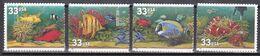 USA 1999 - Mi.Nr. 3140 - 3143 - Postfrisch MNH - Tiere Animals Fische Fishes - Fishes