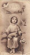 Santino Fustellato Gesu' Bambino - Devotieprenten