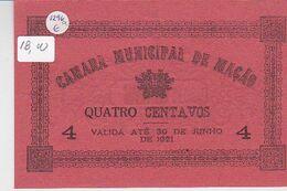 Portugal -Cédula De Mação  Nº 1296   4 Ctv - Portugal