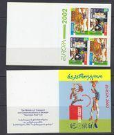 Europa Cept 2002 Georgia Booklet ** Mnh (49728) GALAXY PRICE - 2002