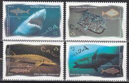 Canada Kanada 1997 - Mi.Nr. 1619 - 1622 - Postfrisch MNH - Tiere Animals Fische Fishes - Fische