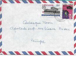 Cabo Verde , 1989 Interparliamentary Union Stamp , 1990  Vaccination  Courvoisier  Stamp - Jetski