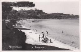 PORQUEROLLES - VAR - (83)  - CPA ANIMÉE DE 1953 - BEL AFFRANCHISSEMENT POSTAL. - Porquerolles