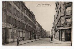 VINCENNES (VAL DE MARNE) * ANGLE RUE PREVOYANCE & LAITIERES * ERREUR D'adresse RUE DU LEVANT * Carte N° 1097 Malcuit - Vincennes