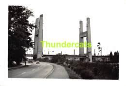 OUDE FOTO PHOTO JAREN 70/80 RING R0 BRUSSEL BRUXELLES ( VILVOORDE DILBEEK ASSE WEMMEL GRIMBERGEN ZAVENTEM ) 12 X 17 Cm - Cars