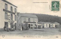 CPA 63 VOLVIC LES HOTELS - Volvic