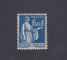 TIMBRE FRANCE N° 288 NEUF ** - 1932-39 Paz