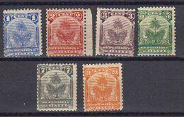 Haiti 1898 Yvert 39 / 44 ** Neufs Sans Chaniere - Haití