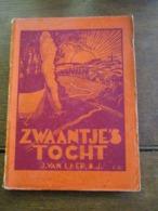 Oud Boek 1936 ZWAANTJE' S  TOCHT  Door Joz . VAN  LAER .  S; J;   Uitgegeven  Te  ALKEN - Books, Magazines, Comics