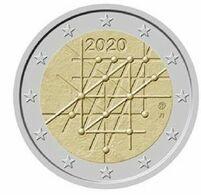 Finlande 2020 : 2 Euro Commémorative '100 Ans De Université De Turku' (UNC - Issue De Rouleau) - Disponible En France - Finlandía