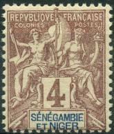 Sénegambie Et Niger (1903) N 3 * (charniere) - Unused Stamps